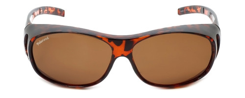 Montana Designer Fitover Sunglasses F01A in Gloss Tortoise & Polarized Brown Lens