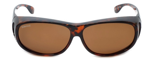 Montana Designer Fitover Sunglasses F03A in Gloss Tortoise & Polarized Brown Lens