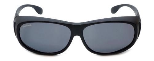 Montana Designer Fitover Sunglasses F03G in Matte Black & Polarized Grey Lens