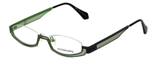 Eyefunc Designer Eyeglasses 288-54 in Silver & Green 49mm :: Custom Left & Right Lens
