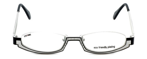 Eyefunc Designer Eyeglasses 288-69 in Black & White 49mm :: Custom Left & Right Lens