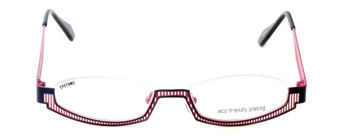 Eyefunc Designer Eyeglasses 288-90 in Navy & Pink 49mm :: Custom Left & Right Lens