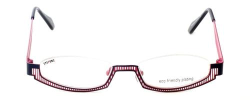 Eyefunc Designer Eyeglasses 288-90 in Navy & Pink 49mm :: Rx Single Vision