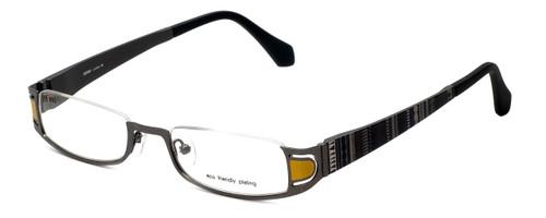 Eyefunc Designer Eyeglasses 327-54 in Yellow Glitter 50mm :: Rx Single Vision
