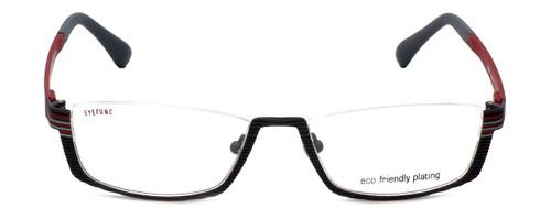 Eyefunc Designer Eyeglasses 591-54 in Grey & Red 52mm :: Rx Single Vision