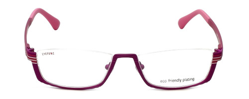Eyefunc Designer Eyeglasses 591-65 in Purple & Pink 52mm :: Rx Single Vision