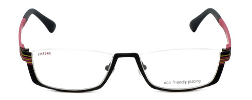 Eyefunc Designer Eyeglasses 591-69 in Black & Pink 52mm :: Progressive