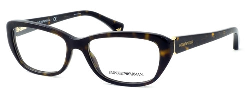 Emporio Armani Designer Reading Glasses EA3041-5026 in Havana