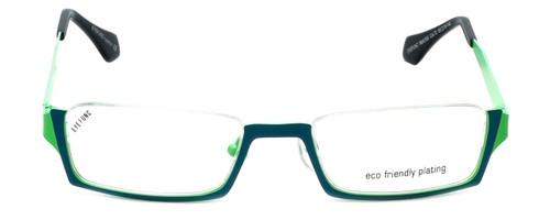 Eyefunc Designer Reading Glasses 530-72 in Teal & Green 50mm