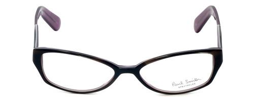 Paul Smith Designer Eyeglasses PS297-BHPL in Black-Horn-Purple 52mm :: Rx Single Vision