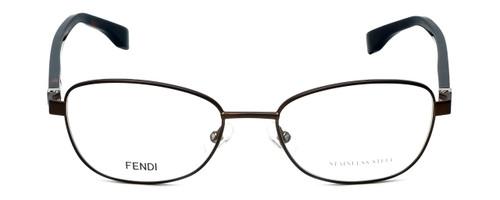 Fendi Designer Reading Glasses FF0012-7SR in Matte Brown Havana 53mm