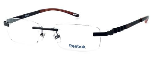 Reebok Optical Designer Reading Glasses R2006-SBR in Matte-Black