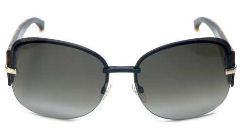Christian Dior Designer Sunglasses Precieusef-KGK in Black-Havana 64mm