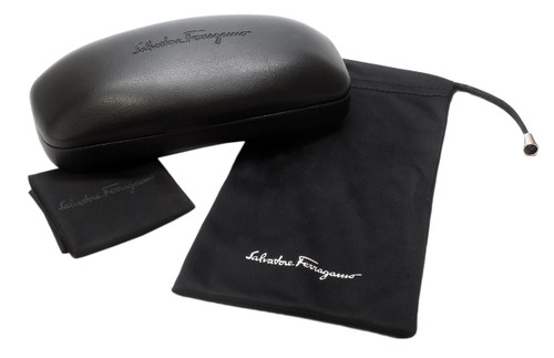 Included Salvatore Ferragamo Case & Microfiber Cleaning Cloth