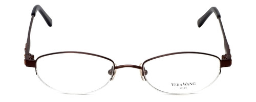 Vera Wang Designer Eyeglasses Glitter in Burgundy 50mm :: Progressive