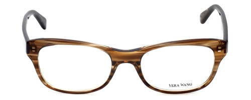 Vera Wang Designer Reading Glasses V339 in Nude-Horn 51mm