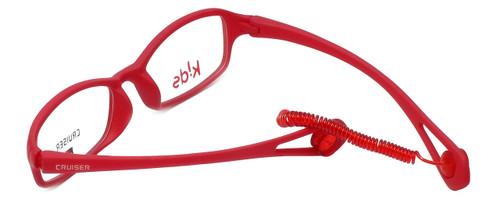 Cruiser Kids Designer Eyeglasses 2895 in Matte-Red 43mm :: Rx Single Vision