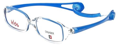 Cruiser Kids Designer Eyeglasses 2895 in Crystal-Blue 43mm :: Rx Single Vision
