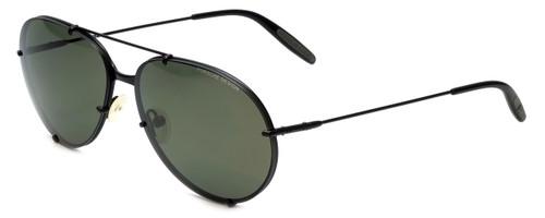 Porsche P1002 A Designer Sunglasses in Black
