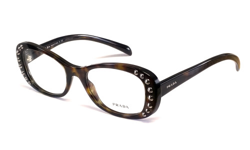 Prada Designer Reading Glasses VPR21R in Tortoise 51mm