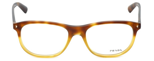 Prada Designer Eyeglasses VPR17R-TKU1O1 in Light Havana 56mm :: Progressive