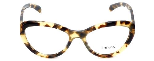 Prada Designer Eyeglasses VPR25R-7S01O1 in Tokyo Tortoise 52mm :: Progressive