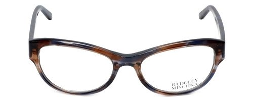 Badgley Mischka Designer Eyeglasses Madeline in Blue 53mm :: Custom Left & Right Lens