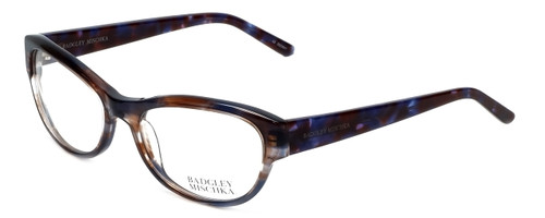 Badgley Mischka Designer Eyeglasses Madeline in Blue 53mm :: Rx Single Vision