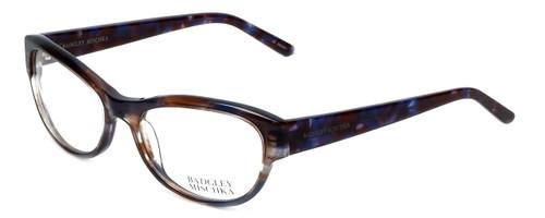 Badgley Mischka Designer Eyeglasses Madeline in Blue 53mm :: Progressive