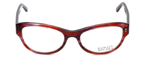 Badgley Mischka Designer Reading Glasses Madeline in Wine 53mm