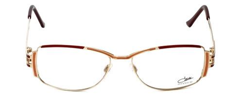 Cazal Designer Eyeglasses 1084-001 in Gold-Red 56mm :: Custom Left & Right Lens