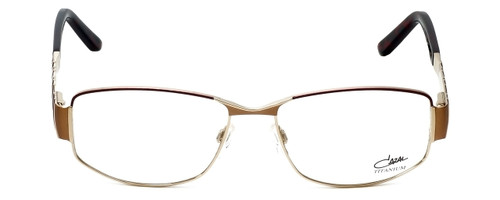 Cazal Designer Eyeglasses 1092-004 in Gold-Red 55mm :: Custom Left & Right Lens