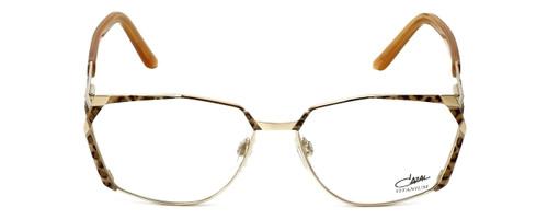 Cazal Designer Eyeglasses 1099-003 in Gold-Leopard Print 56mm :: Custom Left & Right Lens