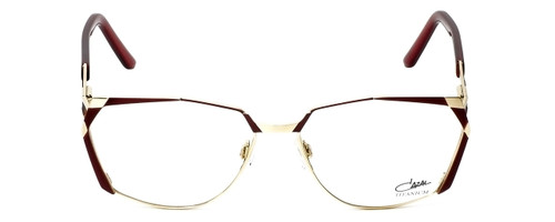 Cazal Designer Reading Glasses 1099-001 in Gold-Red 56mm
