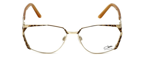 Cazal Designer Reading Glasses 1099-003 in Gold-Leopard Print 56mm