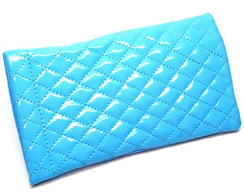 Squeeze Top Soft Eyeglass Case Chevron Zig Zag Design