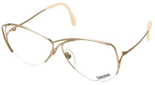 Rodenstock Designer Eyeglasses 828 in Gold 59mm :: Custom Left & Right Lens