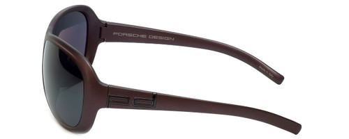Porsche Designer Sunglasses P8520-D in Purple with Grey Lens