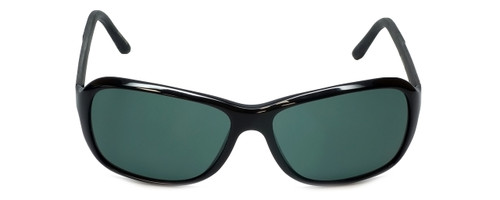 Porsche Designer Sunglasses P8558-A in Black with Green Lens