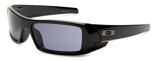 Oakley Designer Sunglasses Gascan 03-471 in Black with Grey Lens