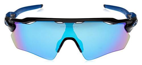 Oakley Designer Sunglasses Radar EV Path OO9208-20 in Black with Sapphire Iridium Lens