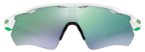 Oakley Designer Sunglasses Radar EV Path OO9208-4838 in White with Jade Iridium Lens