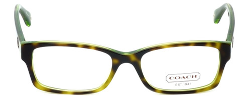 Coach Designer Reading Glasses Brooklyn HC6040-5117 in Tortoise Green 50mm