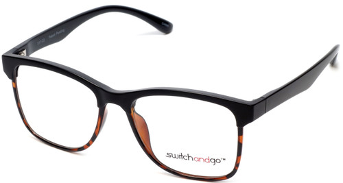 Switch and Go Switchable Eyewear 017-C2 in Matte-Black