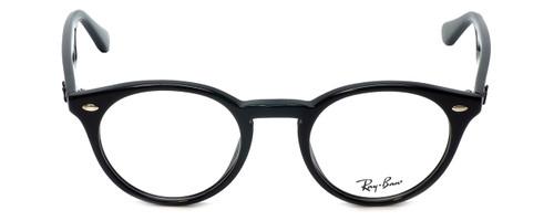 Ray-Ban Designer Eyeglasses RB2180V-2000 in Black 47mm :: Rx Single Vision