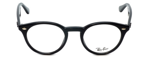 Ray-Ban Designer Eyeglasses RB2180V-2000 in Black 47mm :: Rx Bi-Focal