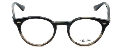 Ray-Ban Designer Reading Glasses RB2180V-5540 in Grey-Horn 47mm