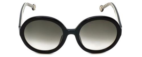 Carolina Herrera Designer Sunglasses SHE696-0700 in Black Grey Gradient Lens