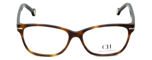 Carolina Herrera Designer Eyeglasses VHE635K-09AJ in Havana 53mm :: Custom Left & Right Lens