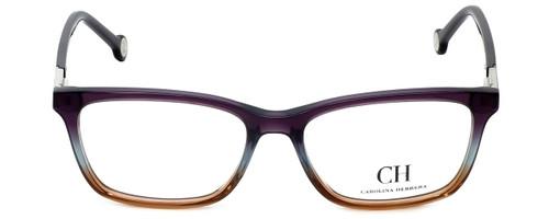 Carolina Herrera Designer Eyeglasses VHE673K-0D78 in Purple-Fade 53mm :: Custom Left & Right Lens